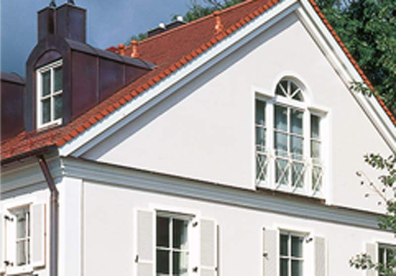 Fassadengestaltung Stuckateur Geiger Schorndorf-Schornbach